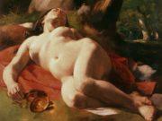 """Гюстав Курбе (Gustave Courbet), """"Вакханка , La Bacchante"""""""