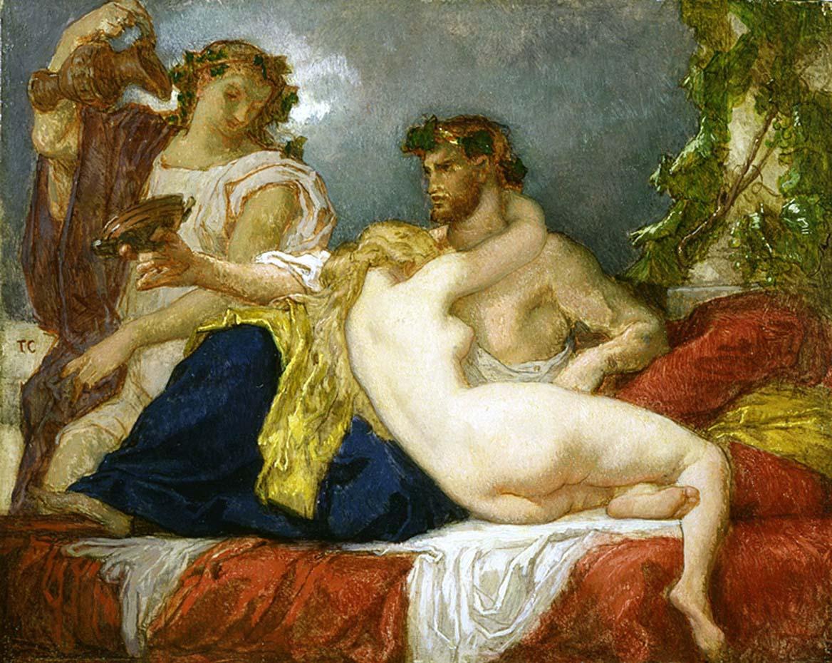 Тома Кутюр (Thomas Couture), Гораций и Лидия