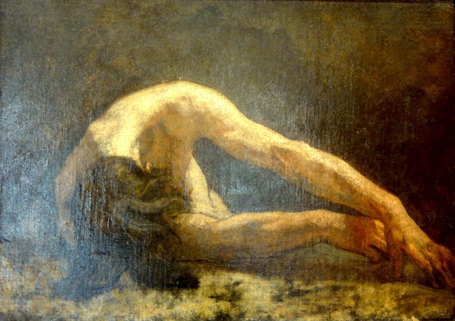 Тома Кутюр (Thomas Couture), Etude d'homme