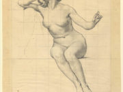 "Кеньон Кокс (Kenyon Cox) ""Drawing, Study for Peace, The Ben"""