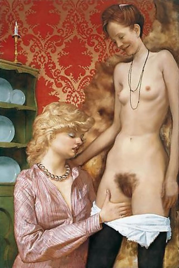 "Джон Каррен (John Currin) ""The Dane"""