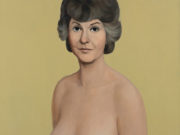 "Джон Каррен (John Currin) ""Bea Arthur Naked"""