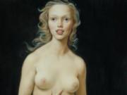 "Джон Каррен (John Currin) ""Honeymoon Nude"""
