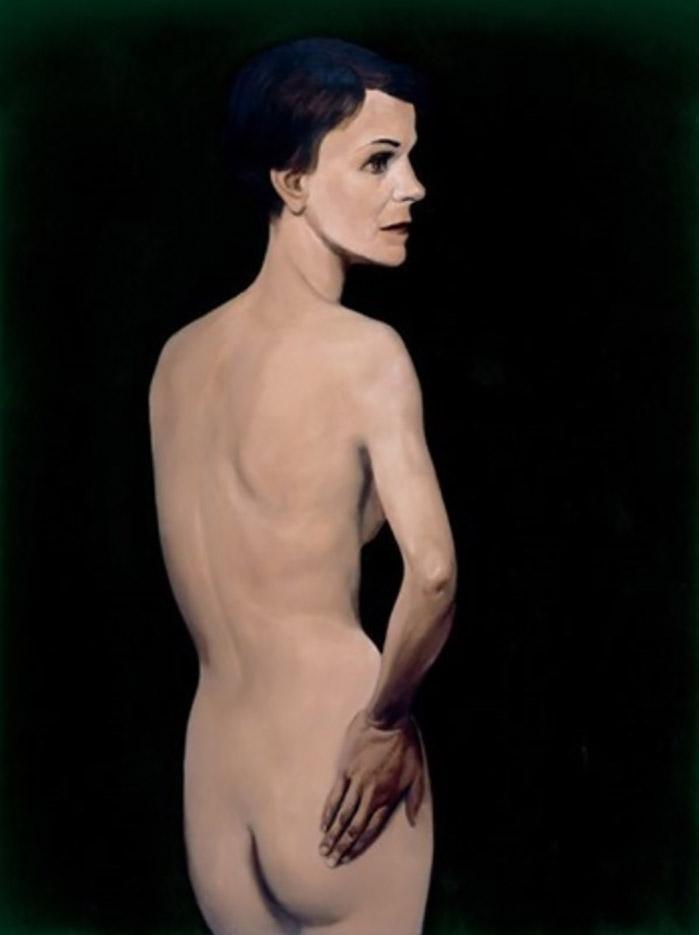 """Джон Каррен (John Currin) """"Standing nude"""""""