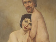 "Джон Каррен (John Currin) ""Couple in bed"""