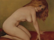 """Джон Каррен (John Currin) """"Nude"""""""