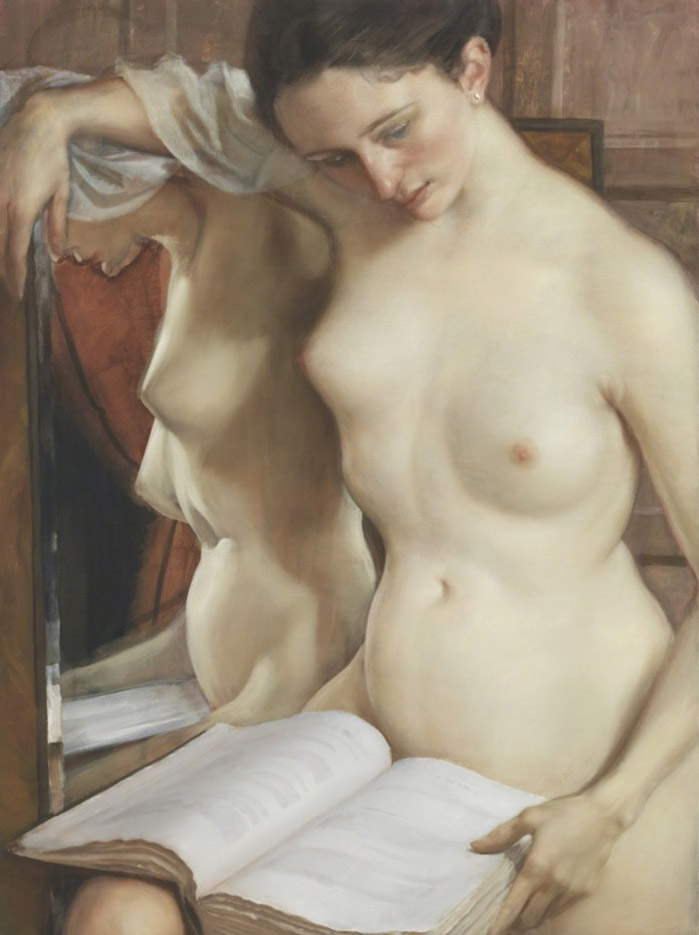 "Джон Каррен (John Currin) ""The Reader"""