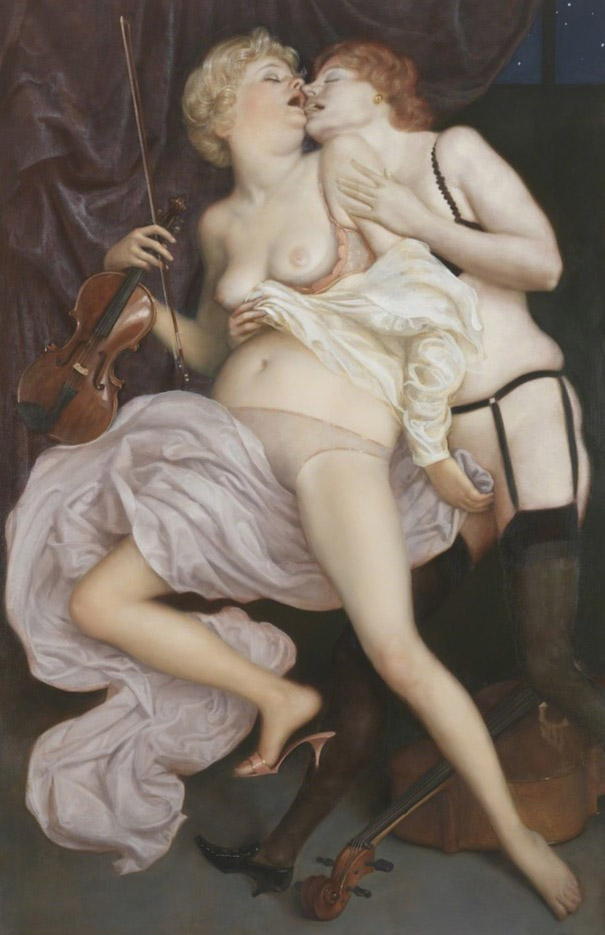 "Джон Каррен (John Currin) ""The Conservatory"""