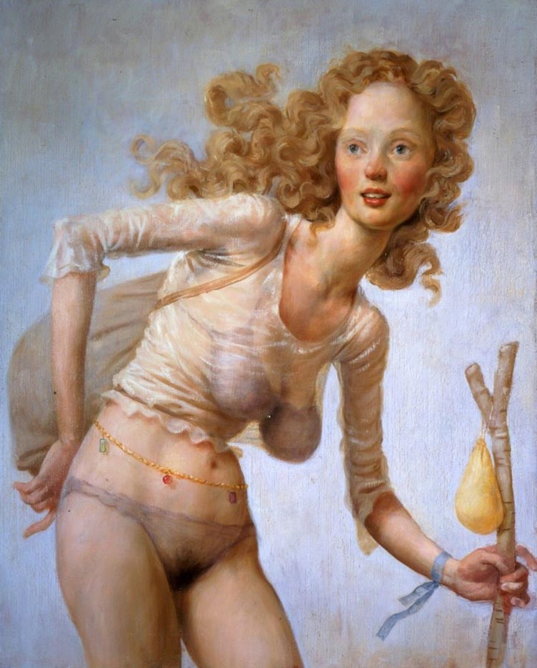 "Джон Каррен (John Currin) ""The Hobo"""