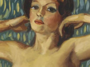 "Джон Каррен (John Currin) ""Untitled - 52"""