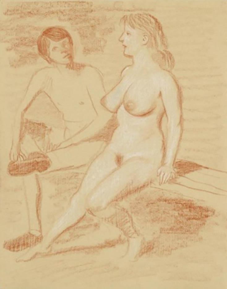 """Джон Каррен (John Currin) """"Nudists"""""""