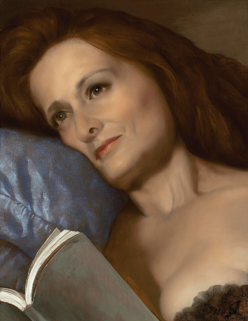 """Джон Каррен (John Currin) """"The Pillow"""""""