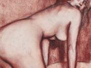 """Джон Каррен (John Currin) """"Nude Bending Over"""""""