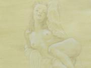 """Джон Каррен (John Currin) """"Nude with Open Nightie"""""""