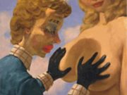 "Джон Каррен (John Currin) ""Untitled - 71"""
