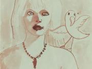 "Джон Каррен (John Currin) ""Untitled - 74"""