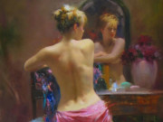 "Пино Даени (Pino Daeni) ""The Mirror"""