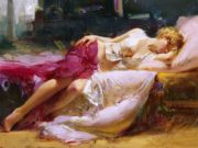 "Пино Даени (Pino Daeni) ""Dreaming in Color"""