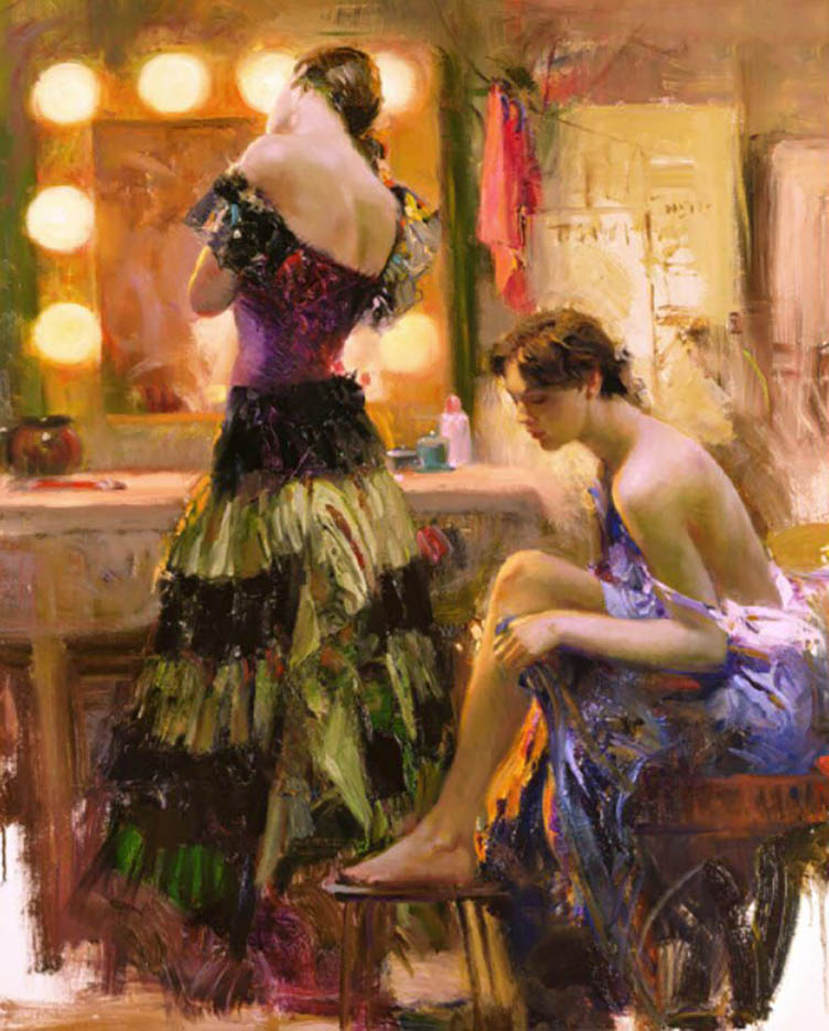 "Пино Даени (Pino Daeni) ""Almost Ready"""