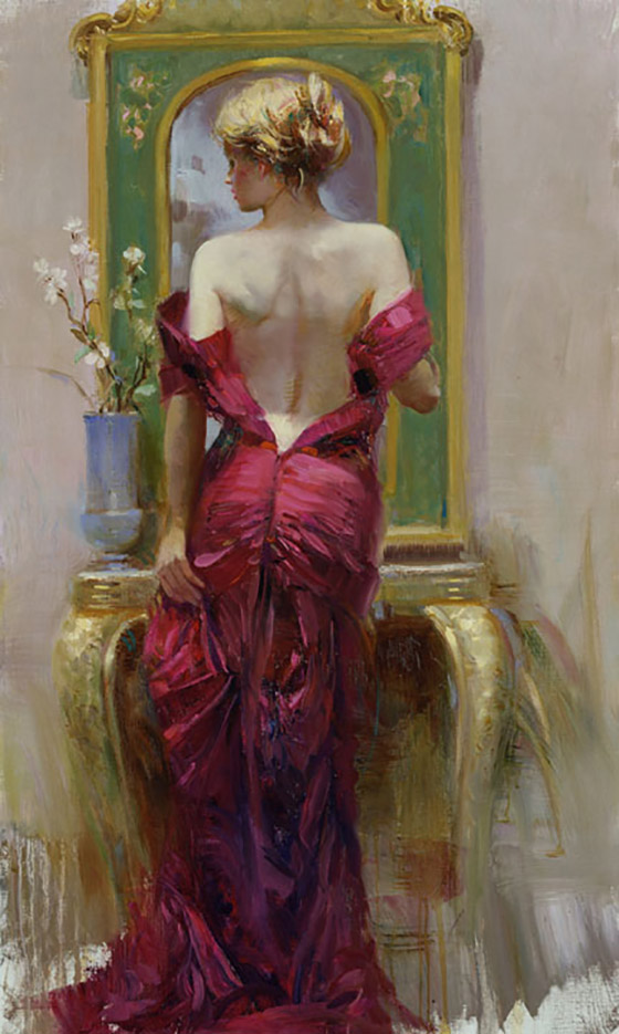 "Пино Даени (Pino Daeni) ""Elegant Seduction"""