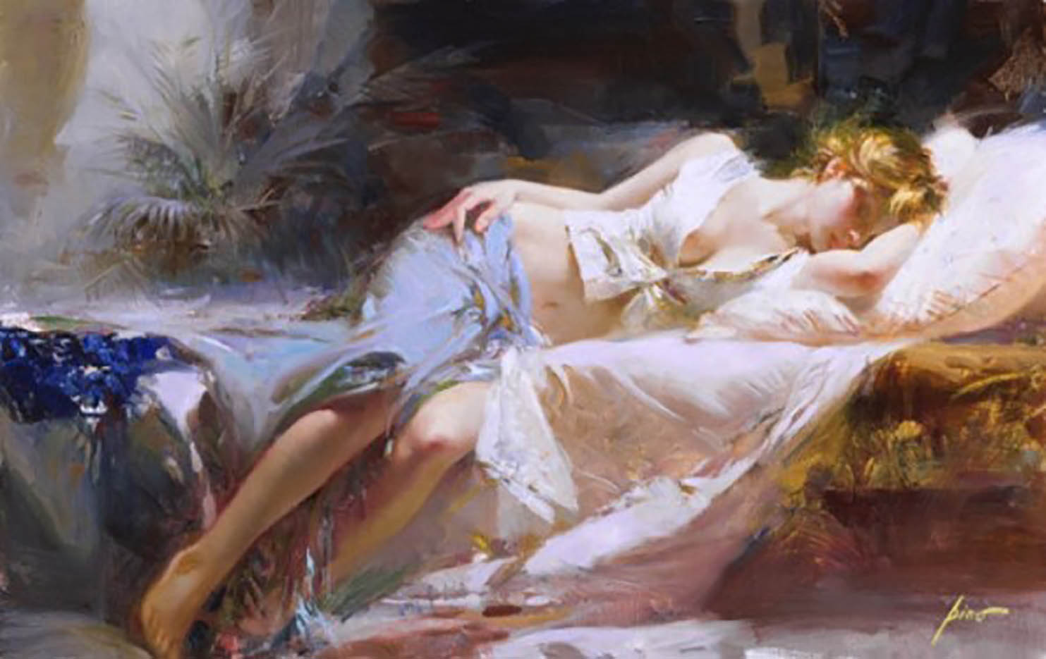 "Пино Даени (Pino Daeni) ""Lost in Dreams"""