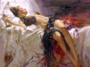 "Пино Даени (Pino Daeni) ""Morning Dreams"""