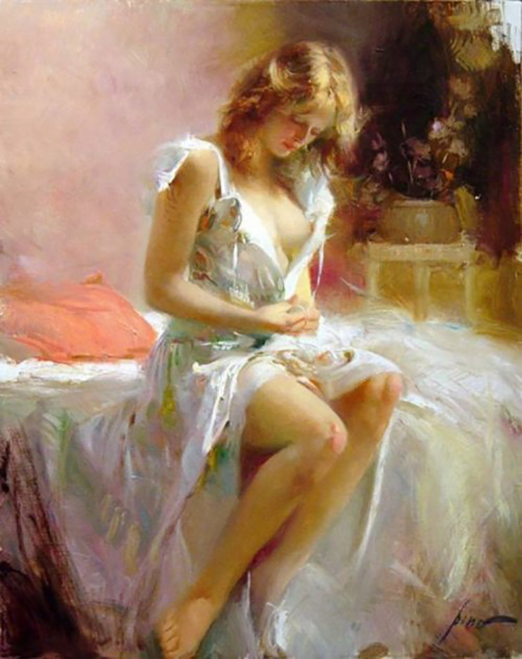 "Пино Даени (Pino Daeni) ""Early Morning"""