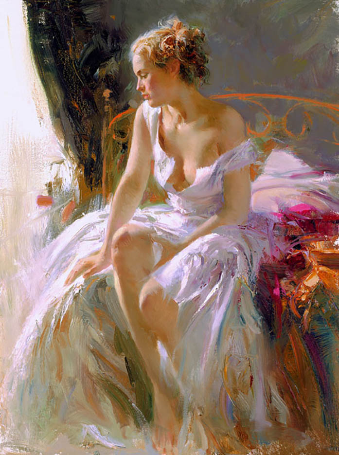 "Пино Даени (Pino Daeni) ""Morning Breeze"""