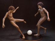 "Джон де Андреа (John De Andrea) ""Boys Playing Soccer"""