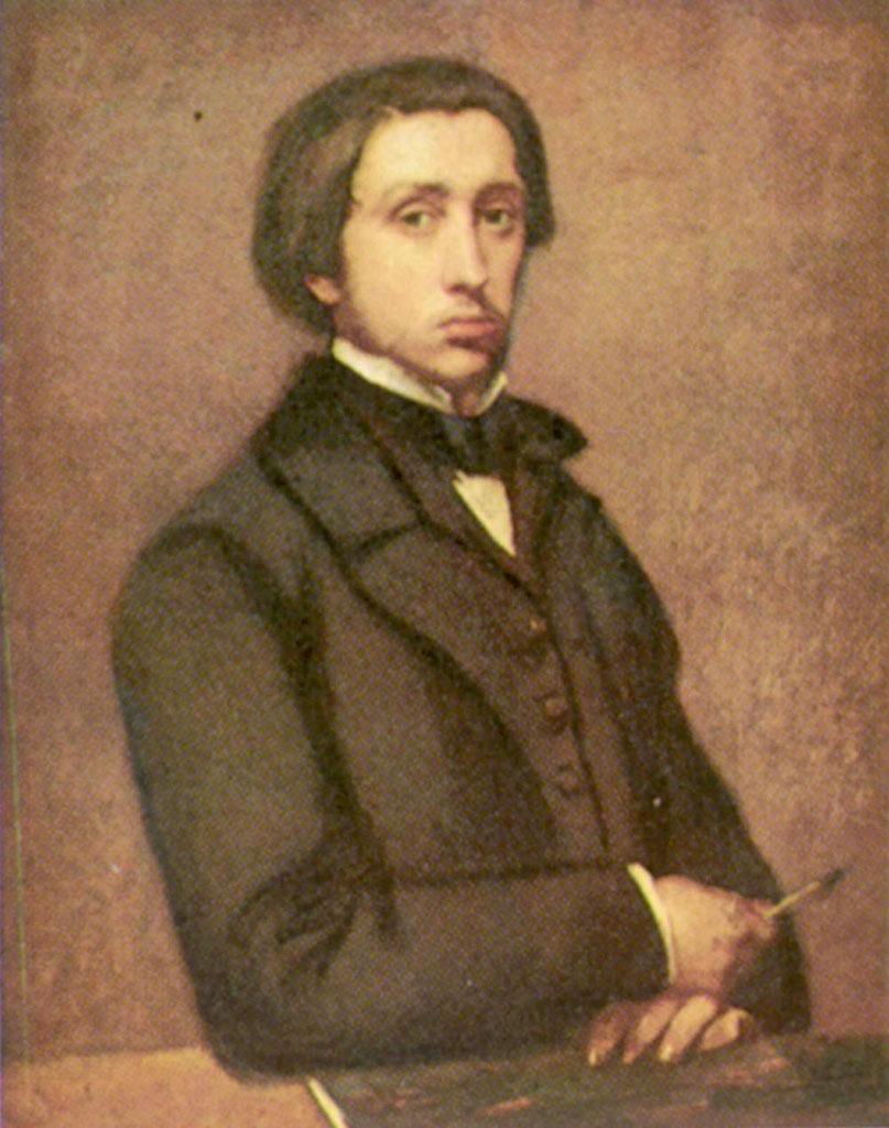 "Эдгар Дега (Edgar Degas), ""Selfportrait"""