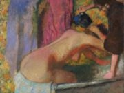 """Эдгар Дега (Edgar Degas), """"Женщина в ванне"""""""