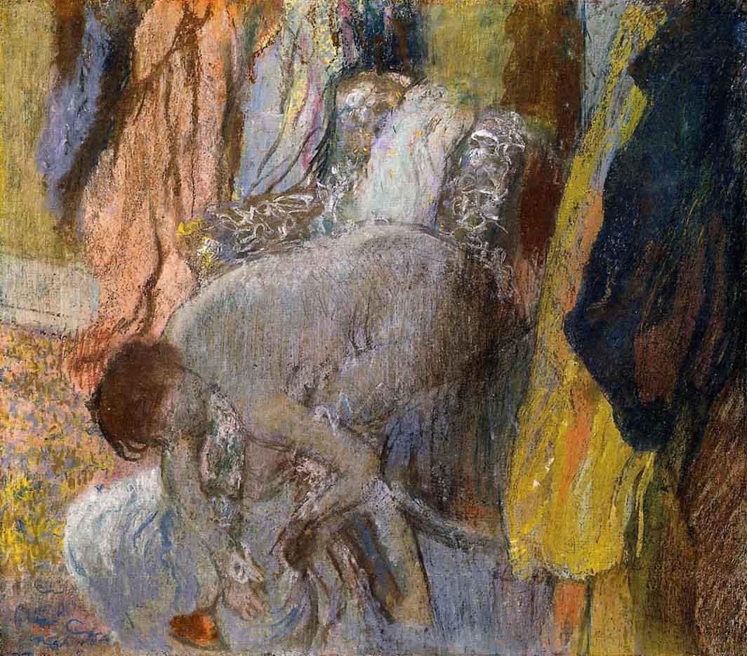 """Эдгар Дега (Edgar Degas), """"Женщина, моющая ноги"""""""