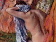"""Эдгар Дега (Edgar Degas), """"После ванны (3)"""""""