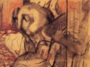"""Эдгар Дега (Edgar Degas), """"После ванны (4)"""""""