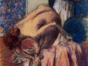 """Эдгар Дега (Edgar Degas), """"Завтрак после купания. Чашка кофе"""""""