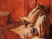 """Эдгар Дега (Edgar Degas), """"После ванны (7)"""""""