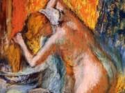"""Эдгар Дега (Edgar Degas), """"После ванны. Женщина, сушащая волосы"""""""