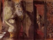"Эдгар Дега (Edgar Degas), ""Раздевалка актрис"""