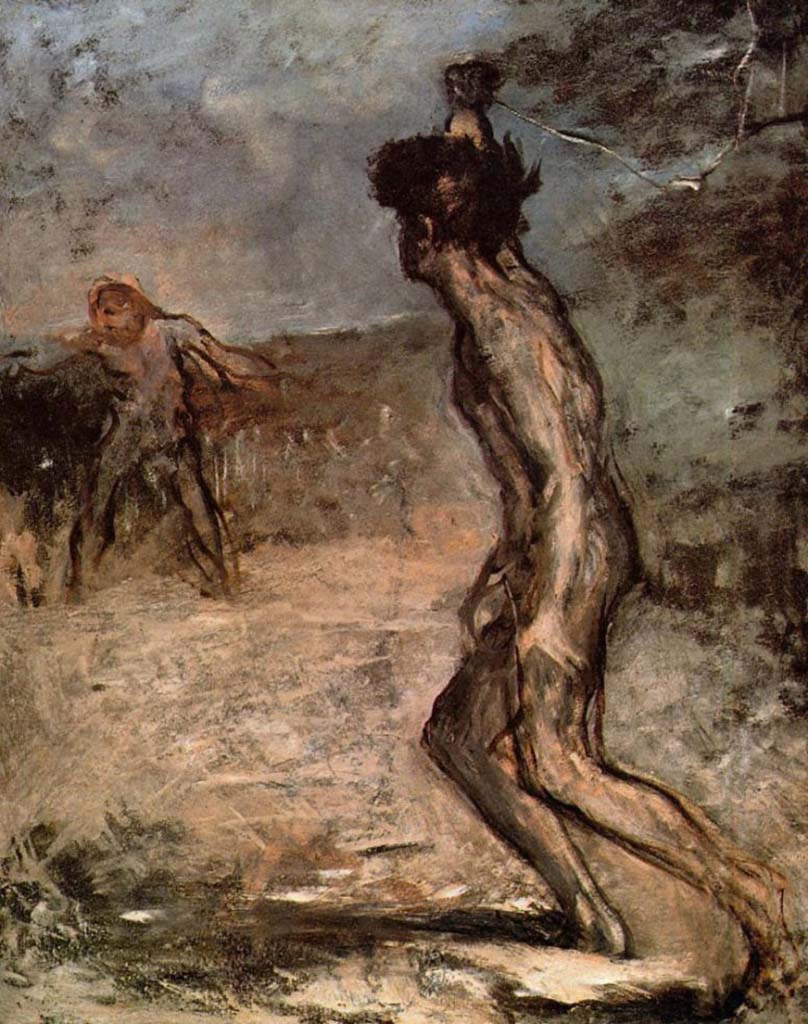 "Эдгар Дега (Edgar Degas), ""Давид и Голиаф"""