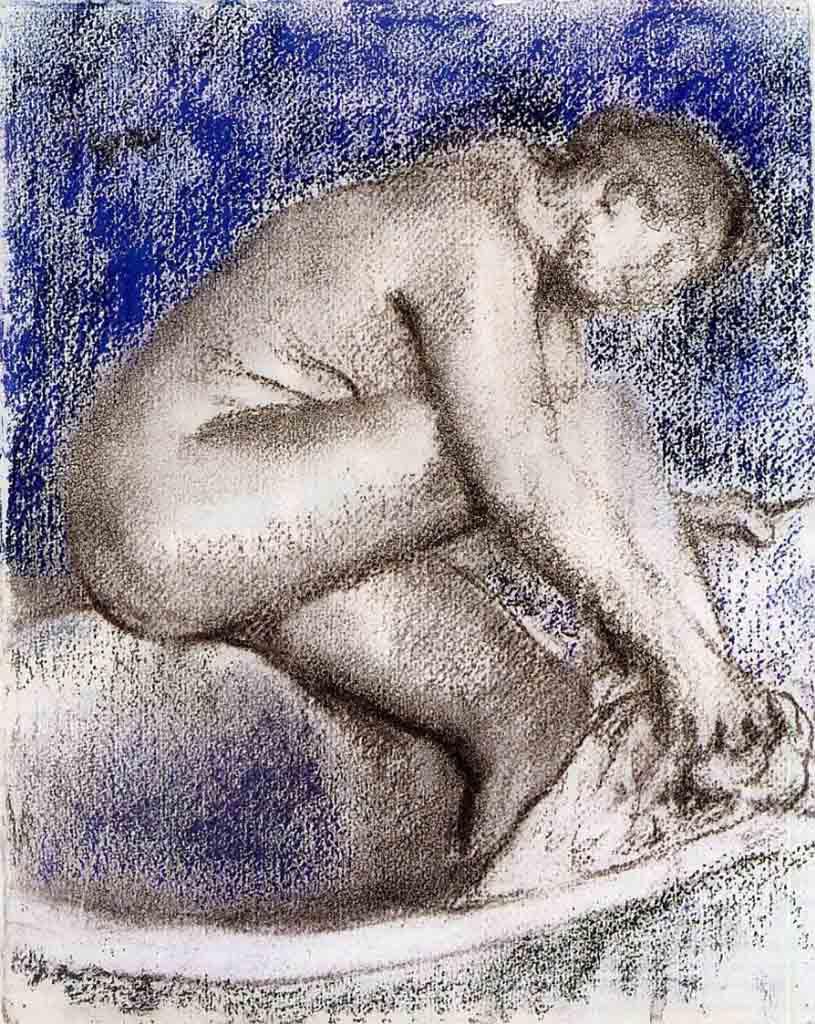 """Эдгар Дега (Edgar Degas), """"Ванна"""""""