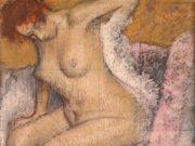 """Эдгар Дега (Edgar Degas), """"После ванны (8)"""""""