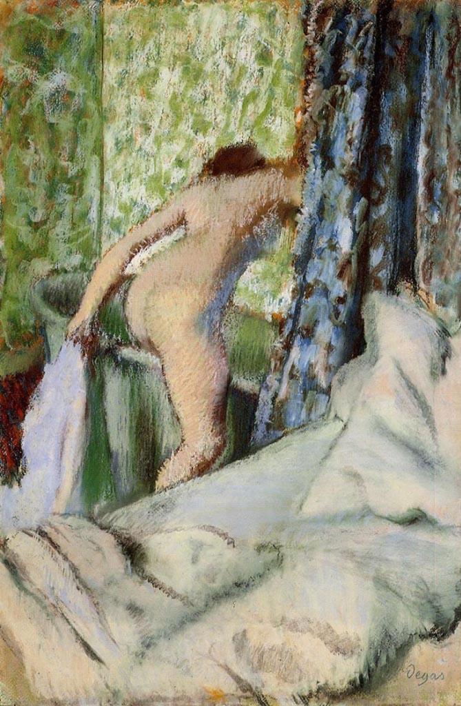 """Эдгар Дега (Edgar Degas), """"Утренняя ванна"""""""