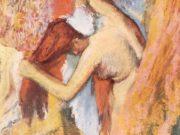 """Эдгар Дега (Edgar Degas), """"Женщина, вытирающая волосы"""""""