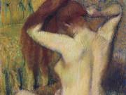 """Эдгар Дега (Edgar Degas), """"Причесывающаяся женщина (2)"""""""
