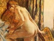 """Эдгар Дега (Edgar Degas), """"После ванны (9)"""""""