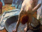 """Эдгар Дега (Edgar Degas), """"Женщина в тазу"""""""