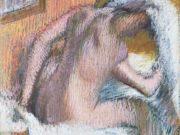 """Эдгар Дега (Edgar Degas), """"Женщина вытирает волосы"""""""