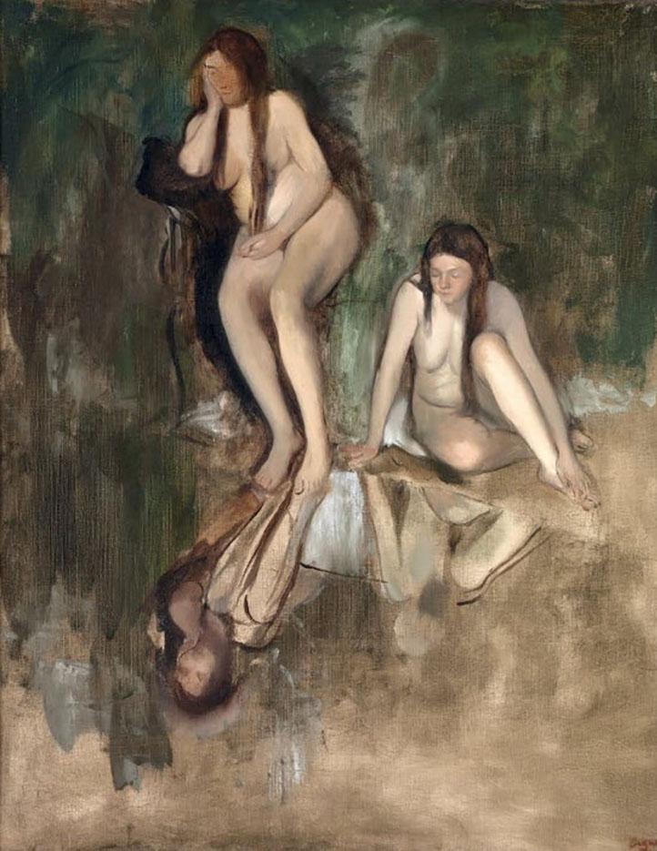 """Эдгар Дега (Edgar Degas), """"Мадемуазель Фиекр в балете """"Источник"""""""""""