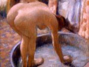 """Эдгар Дега (Edgar Degas), """"Женщина в тазу (2)"""""""