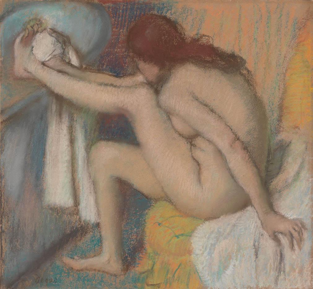 """Эдгар Дега (Edgar Degas), """"Женщина, вытирающая ноги"""""""
